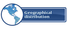 Geographical distribution